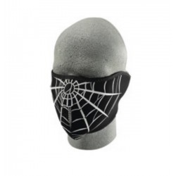 NEOPRENE FACE MASK 1/2 ZAN cobweb