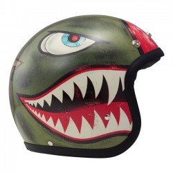 CASCO JET DMD SHARK GREEN