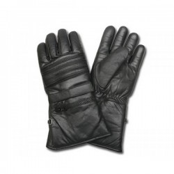 AL55 BLACK LEATHER GLOVES