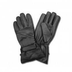 AL62 BLACK LEATHER GLOVES
