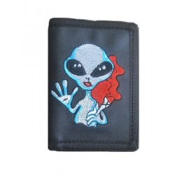 CARTERA CON CADENA SMOKING ALIEN (OUTLET)