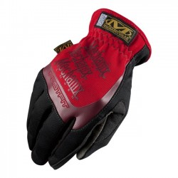 WORK GLOVES FASTFIT MECHANIX RED