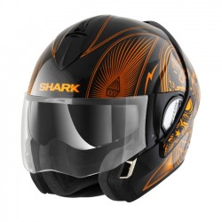HELMET INTEGRAL SHARK EVOLINE MEZCAL CHROME KUO