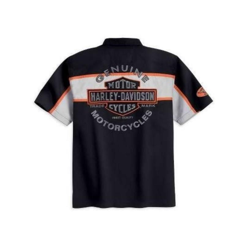 Wrecking Harley Davidson Garage Shirt Harley Davidson