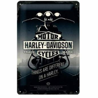 placa-harley-davidson-genuine