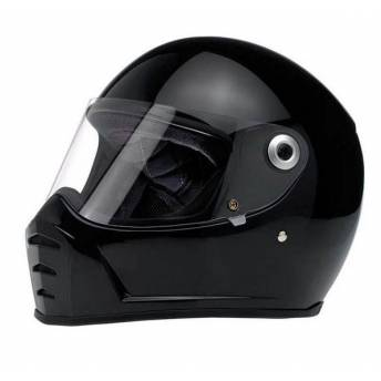 CASCO INTEGRAL BILTWELL SPLITTER NEGRO BRILLO (OUTLET)