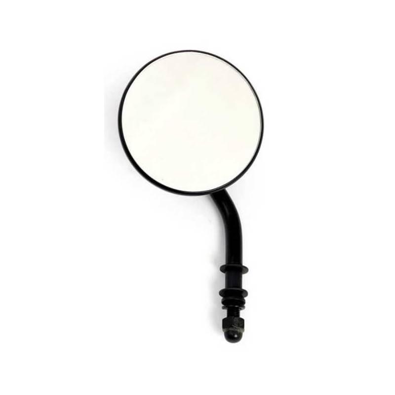 Espejo redondo negro clasico 3 harley davidson spaciobiker for Espejo redondo negro