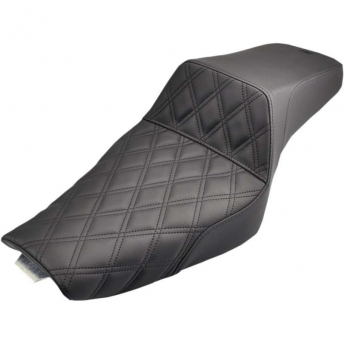 ASIENTO GEL SADDLEMEN STEP UP LS BLACK 17LT HARLEY SPORTSTER 04-18