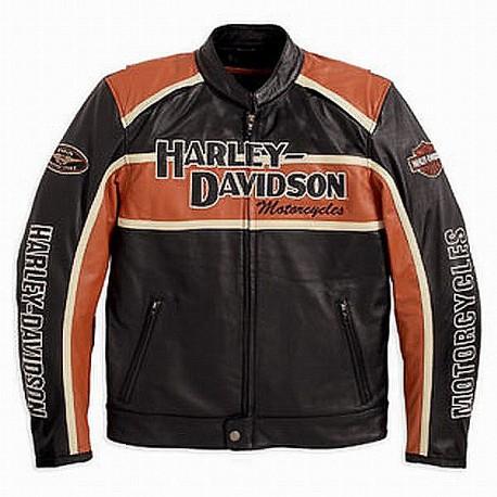 Harley Davidson Classic Cruiser Jacket Leather Outlet