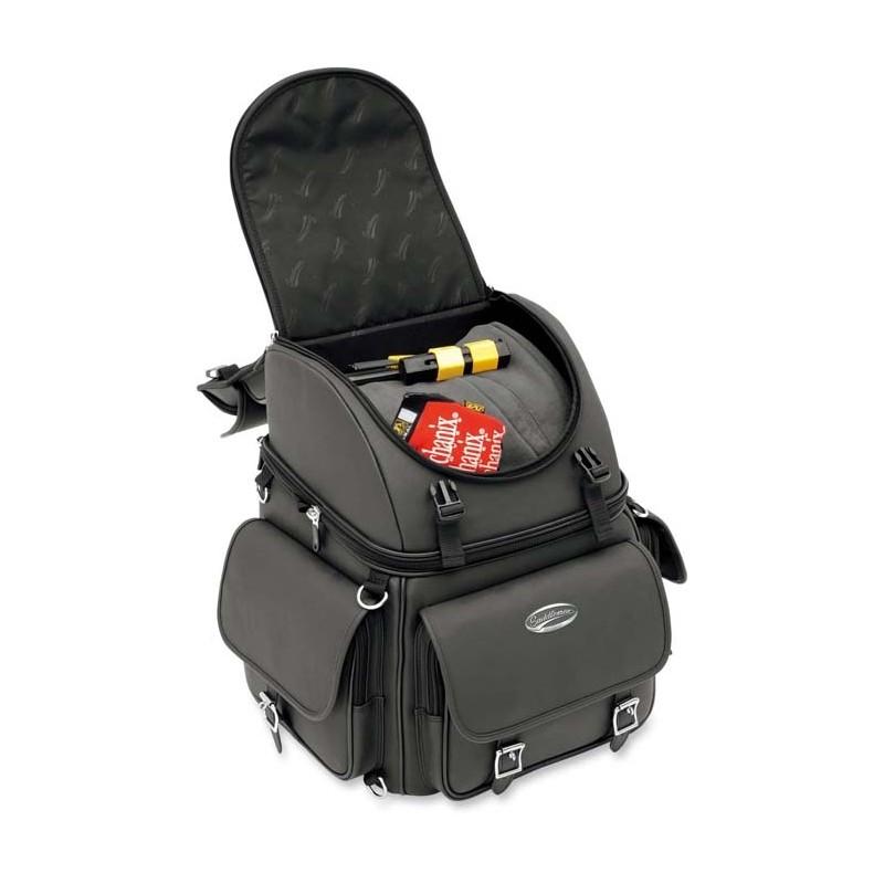 Baul para asiento y respaldo br3400ex back 56l spaciobiker - Baul con asiento ...