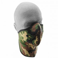 NEOPRENE MASK NECK CAMOUFLAJE