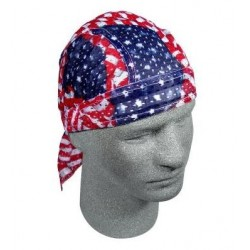VENTILATED BANDANA FLAG WAVY AMERCIAN