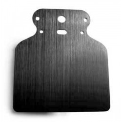 BLACK UNIVERSAL MOUNTING PLATE FOR MINI motoscope