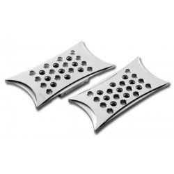 PERFORATED PLATFORMS BATTISTINI HARLEY TOURING PASSENGER / SOFTAIL