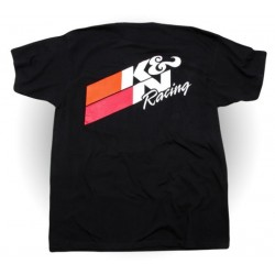 K & N RACING SHIRT BLACK
