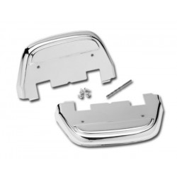 PLATFORM COVER CHROME PASSENGER 87-12 HARLEY TOURING