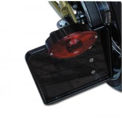 Portamatriculas SIDE ALUMINIUM BLACK HARLEY TWIN-CAM 88