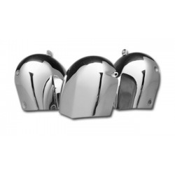 BIG HORN CHROME TRIM HARLEY TWIN 76-90