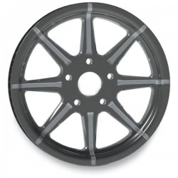 "MIDNIGHT REVTECH TIRE SOLID VELOCITY 16 ""X 5.00"""