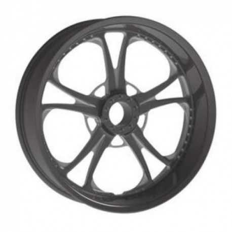 "SOLID TIRE REVTECH MIDNIGHT T-5 17 ""x 3.50"""