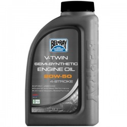 MOTOR OIL SEMI-SYNTHETIC V-twin engine Belray 20W50 / 1 LITER