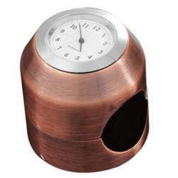 HANDLEBAR WATCH ROUND COPPER