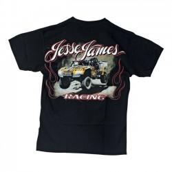 JESSE JAMES JUMP RACING SHIRT BLACK