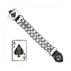 "EXTENSOR CHALECO 7"" ACE OF SPADES"