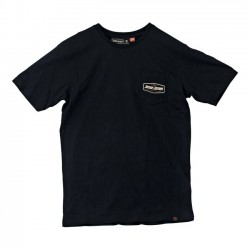 CAMISETA JESSE JAMES POCKET LOGO TEE BLACK