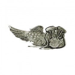 PIN V-TWIN EAGLE WING