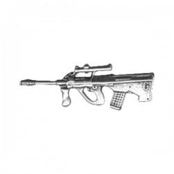 PIN BULLPUP GUN