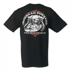CAMISETA LOWBROW CUSTOMS IRONHEAD POWERED SPORTSTER