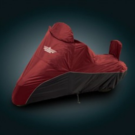 MOTO COVER INDOOR / OUTDOOR LARGE BLACK CRANBERRY