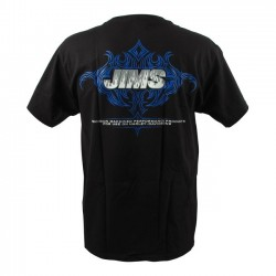 JIMS TRIBAL SHIRT BLACK FLAME