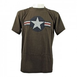 FOSTEX SHIRT AIR FORCE GREEN STARS BARS