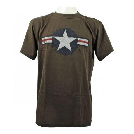 camiseta-fostex-air-force-stars-bars-green