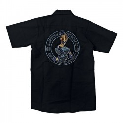 LETHAL THREAT SHIRT V-TWIN PIN-UP