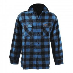 CAMISA FOSTEX CHECKERED BLUE