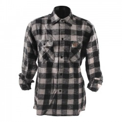 GREY CHECKERED SHIRT FOSTEX
