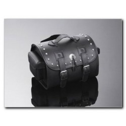 STUDDED LEATHER TRUNK (24Ax40Lx28P cm)