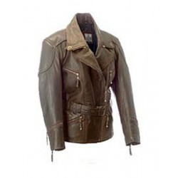 ALEX ORIGINALS LEATHER JACKET BIANCA WAXY
