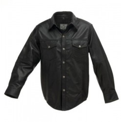 LEATHER SHIRT ALEX ORIGINALS 852