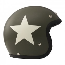 DMD HELMET JET STAR GREEN