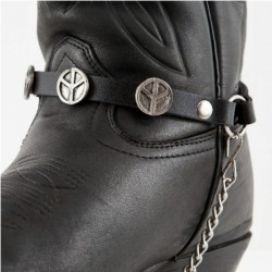 ALEX ORIGINALS BOOTS LEATHER TRIM 034