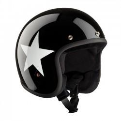 CASCO BANDIT JET STAR BLACK/WHITE ECE