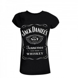 JACK DANIEL`S WOMAN T-SHIRT (OUTLET)