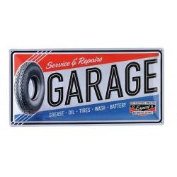 PLATE GARAGE 250 X 500
