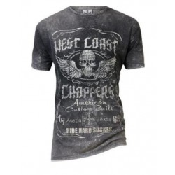 CAMISETA WEST COAST CHOPPERS RIDE HARD SUCKER
