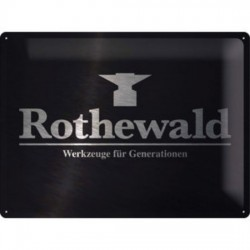 "PLATE GARAGE ""ROTHEWALD"" 400x300 mm"