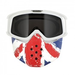 KIT RAW mask and goggles UNION JACK SHARK